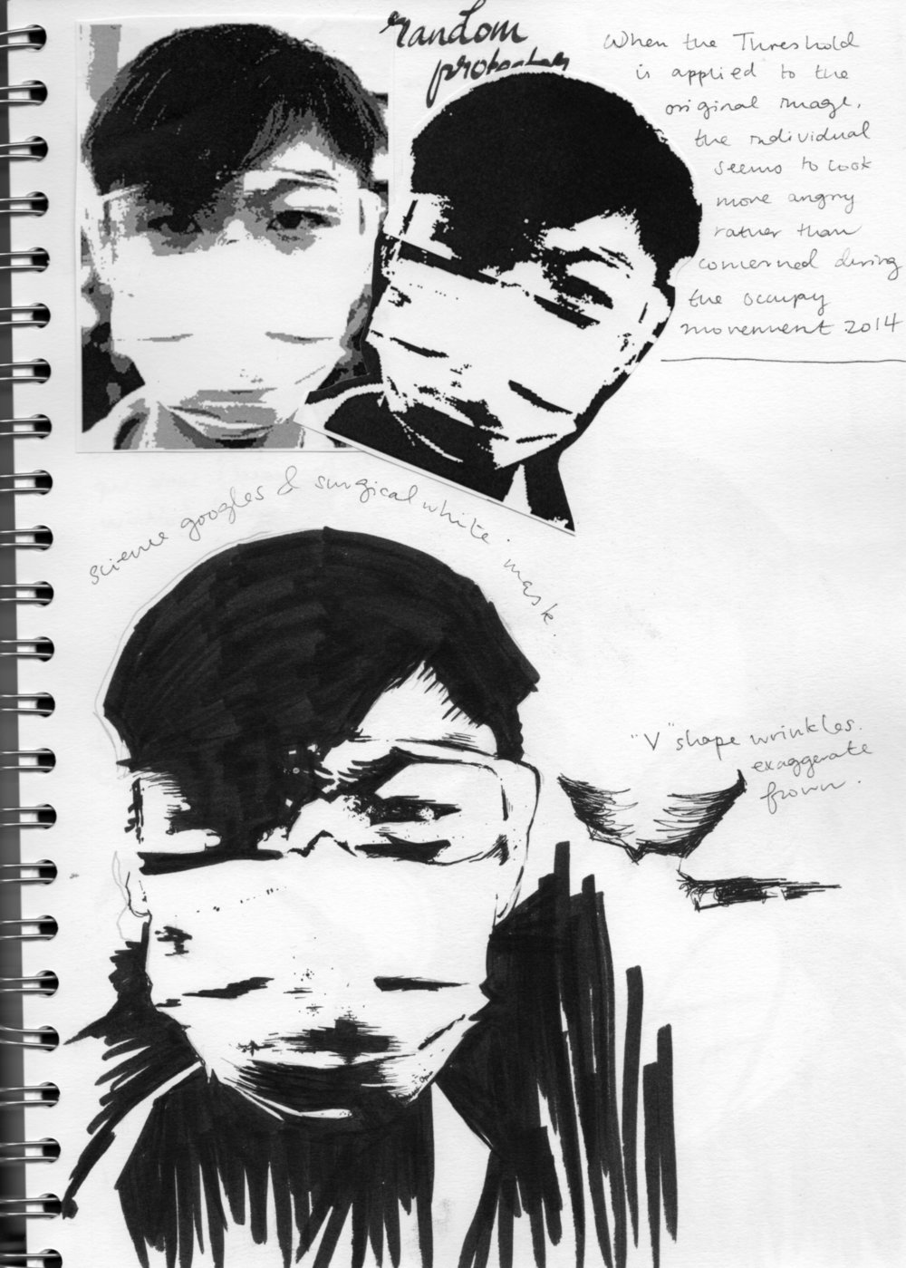 sketch book scans