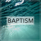 Christian baptism is the immersion of a believer in water. …It is an act of obedience symbolizing the believer's faith in a crucified, buried, and risen Saviour, the believer's death to sin, the burial of the life, and the resurrection to walk in newness of life in Christ Jesus.