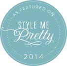 Shindig Bespoke Custom Wedding Invitations featured on Style Me Pretty 2014