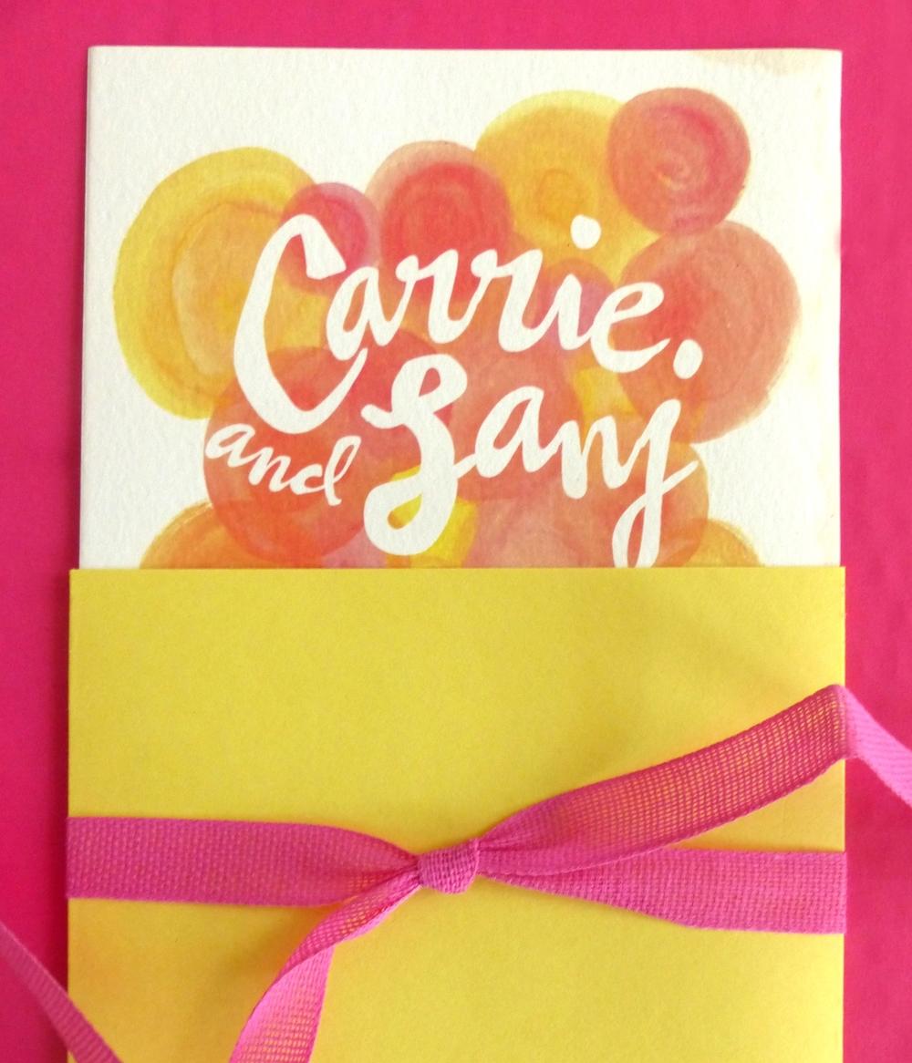 Carrie & Sanj