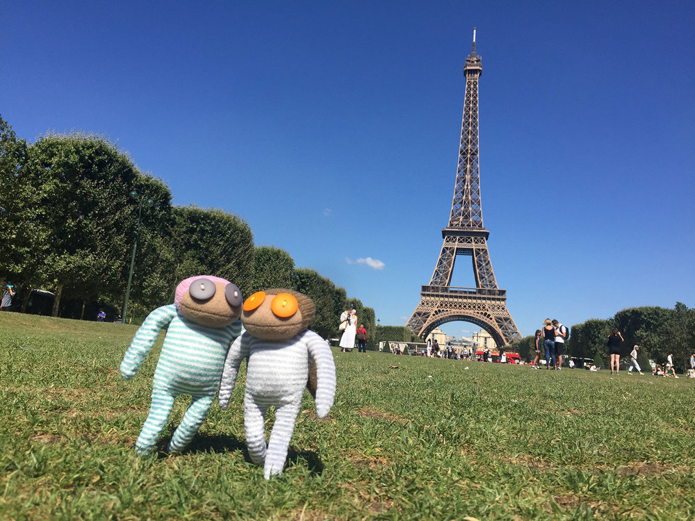 Malcolm and Rita's Paris getaway - Sometimes, when you least expect it, you make new friends!