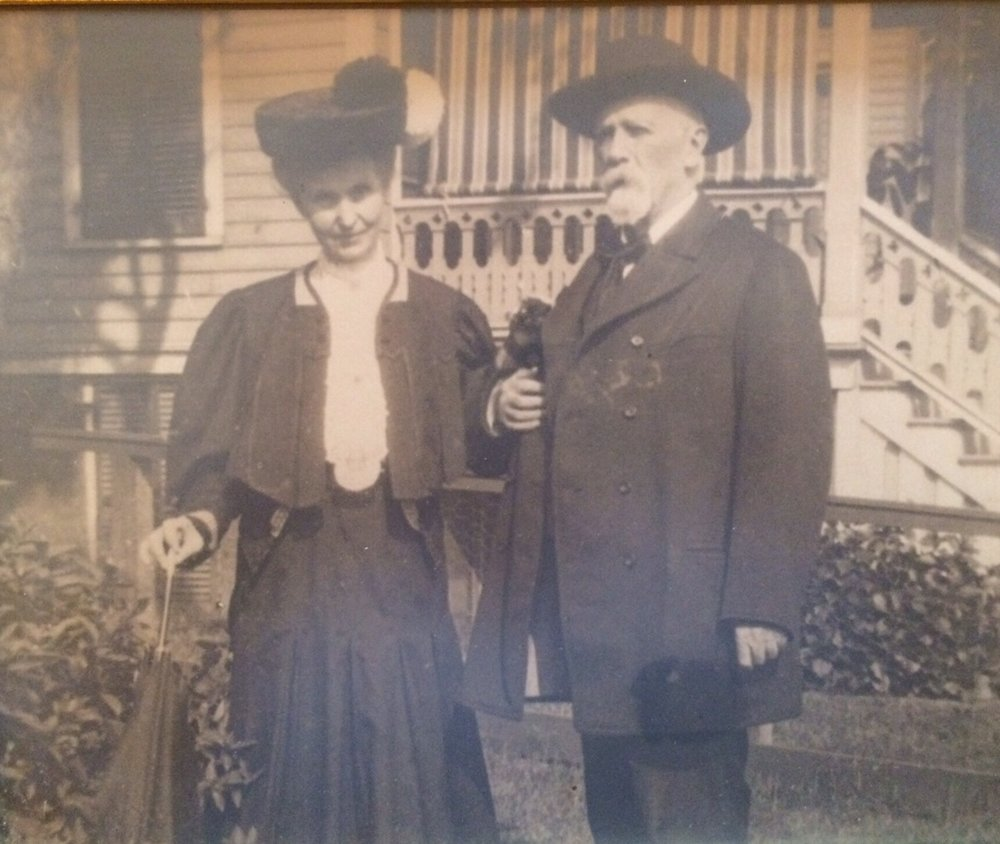 Mary Jane and Rossa in Staten Island, NY.  While they were embraced by the Irish American community their finances were always precarious and Mary Jane throughout her life used her gift of oratory and poetry to bring in income through speaking engagements.