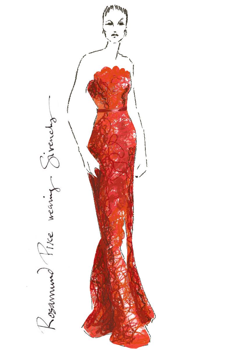 Fashionillustration-Virginia-Romo-Oscars2015-Rosamund-Pike-in-Givenchy
