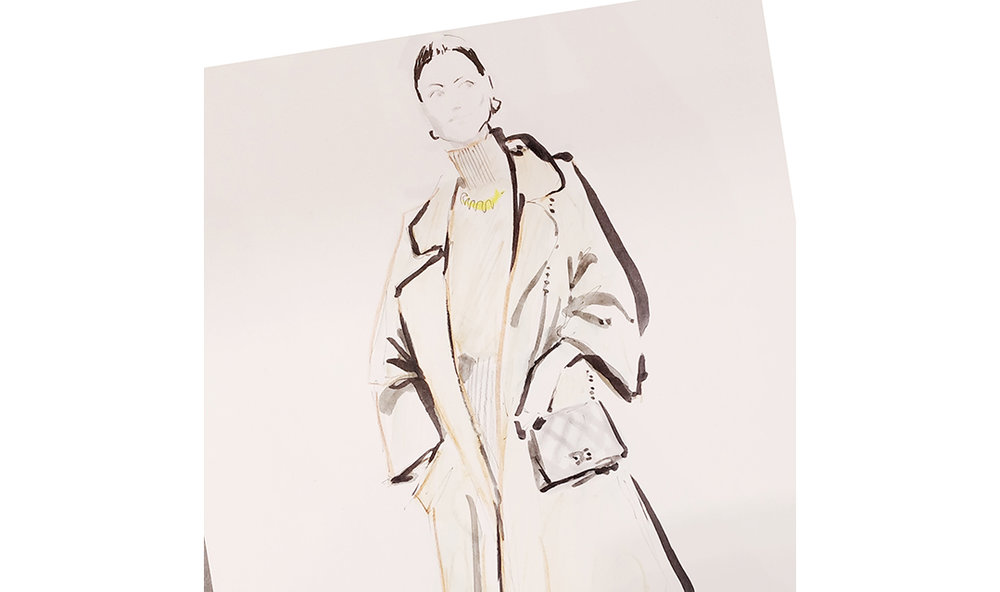 Live Sketches Fashion illustration Virginia Romo Riani Lodenfrey 5