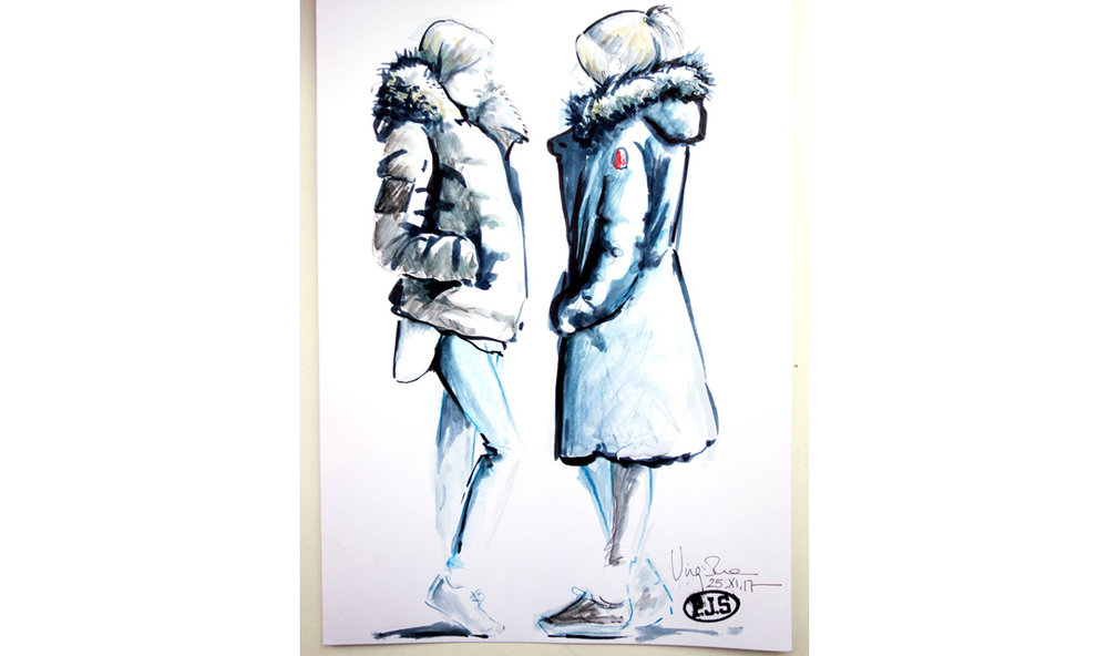 Fashion-Sketches-Live-for-Parajumpers-Event