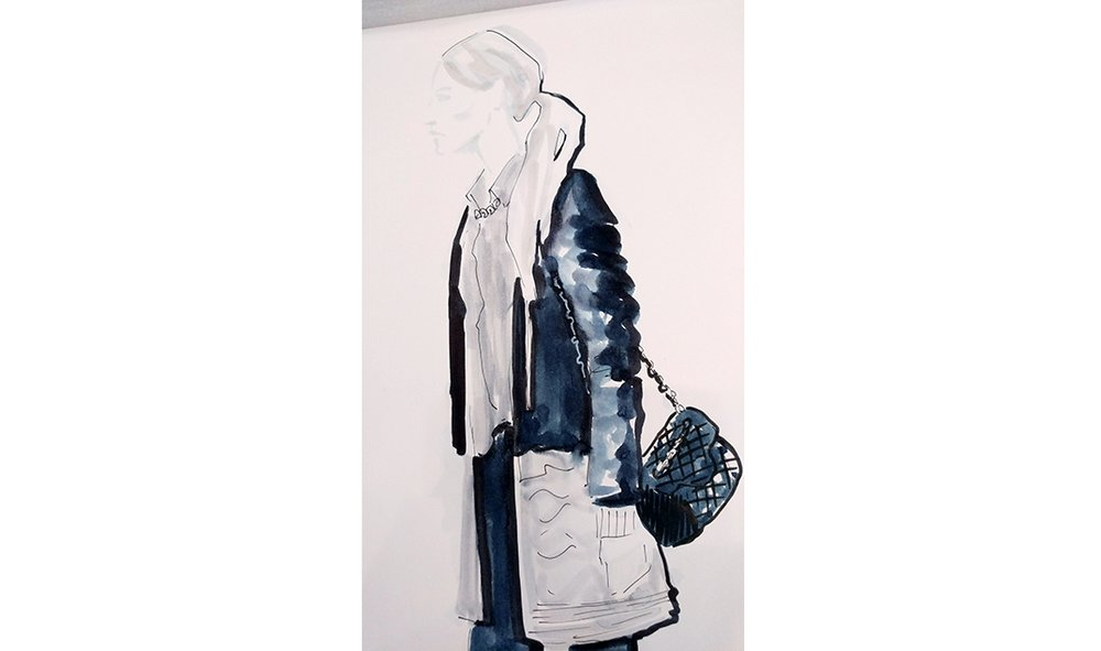 Virginia-Romo-fashion-illustration-live-sketches-Madeleine-store-event-4