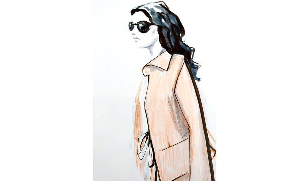 Virginia-Romo-fashion-illustration-live-sketches-Madeleine-store-event-8