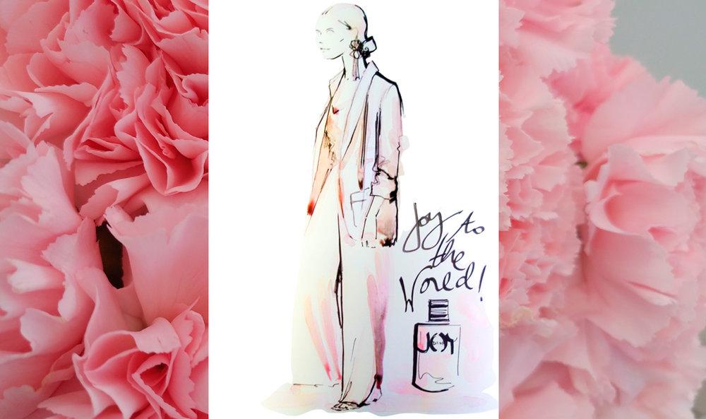 Live sketch event Virginia Romo Fashion Illustration