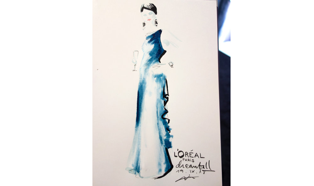 Fashion-illustration-live-sketch-event-Virginia-Romo-LOreal-Dreamball-2018-4