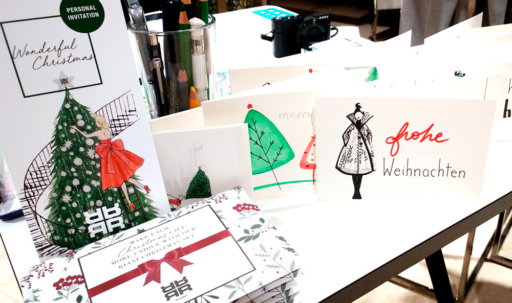 Virginia-Romo-Illustration-live-drawing-event-Christmas-Cards-for-Riani-5.jpg