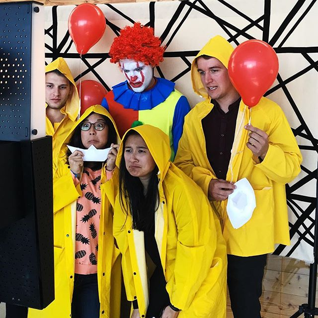 The IT crowd at @airbnb Halloween party in San Francisco! #tomfooleryphotobooth #photobooth #sanfranciscophotobooth
