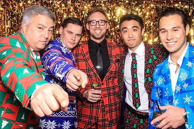 It's that time of year!! Holiday party planning in full swing! Book us now! #corporate #photobooth #christmas #holiday #sfphotobooth #sf