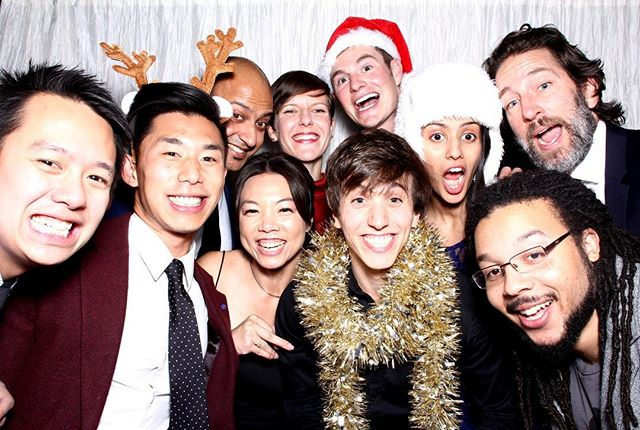 Festive cheer from the @instagram holiday party! Thanks for having us ☃️❣️