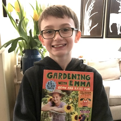 Finn, creator of the dragon's garden. Thank you Finn!