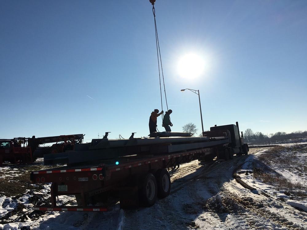 Unloading Area B Structural Steel.JPG