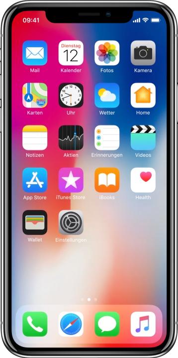 Hallo, mein Name ist iPhone X, und ich funktioniere auch unter der Dusche