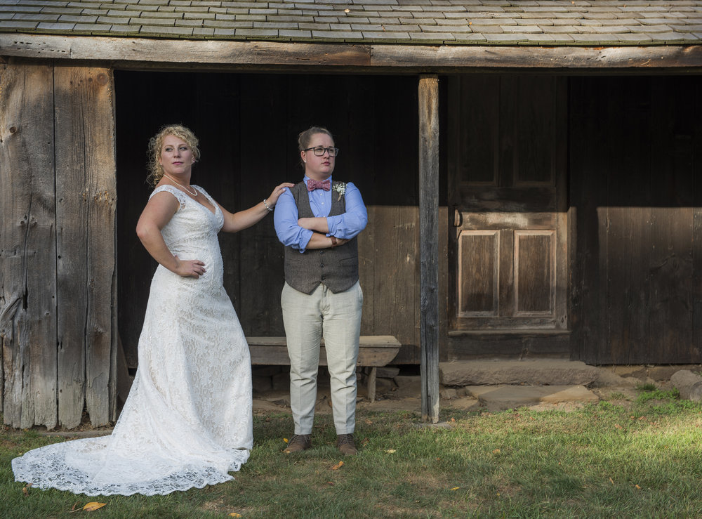 WEBB BARN-rustic wedding-connecticut photographer-LGBT wedding
