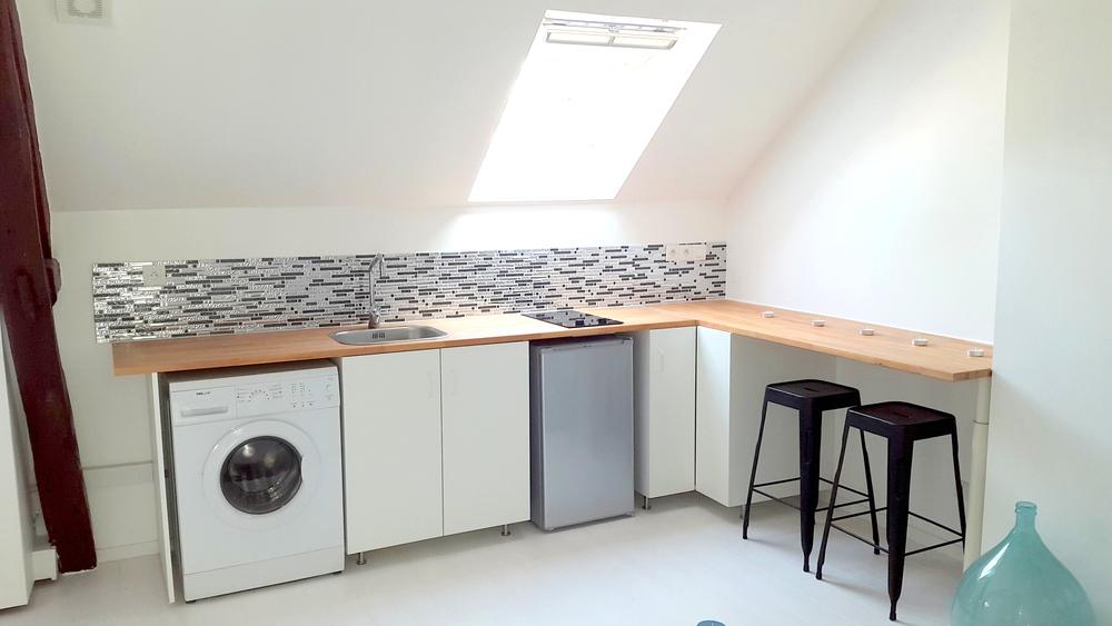 hauteur plan travail cuisine cool plan de travail cuisine. Black Bedroom Furniture Sets. Home Design Ideas