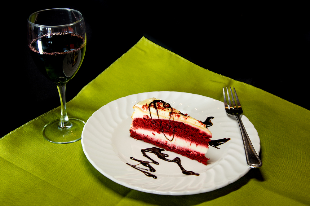 our desserts are always fresh (either locally made or fresh out of our kitchen oven) and go awesome with a glass of WINE, a cup of coffee or a glass of cold milk!