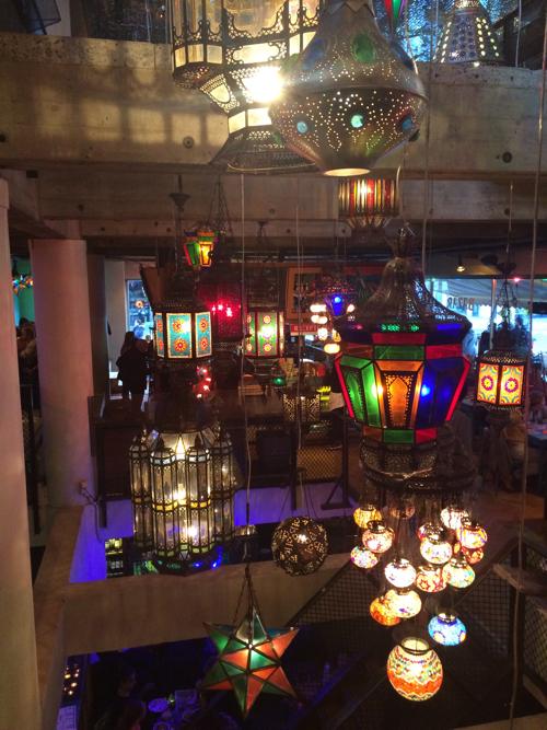 Inside Hotel Bazar