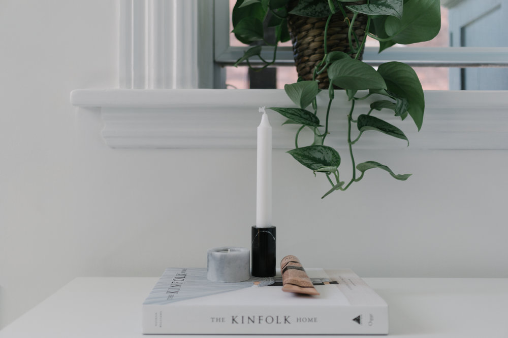 Marble candleholders from  Stonedmarble