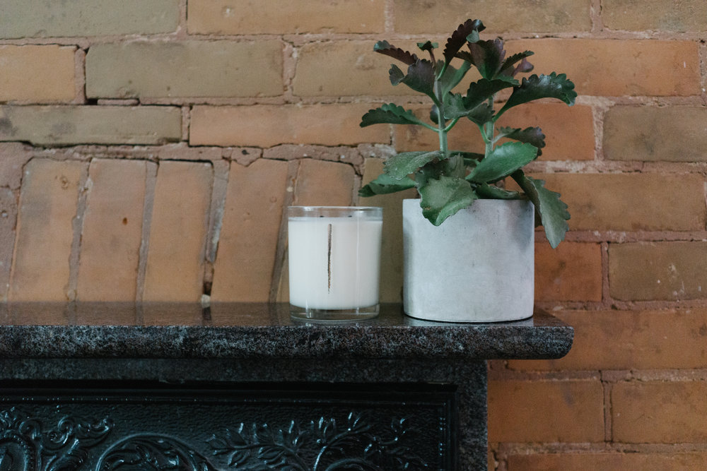 Scented candle from  Woodlot