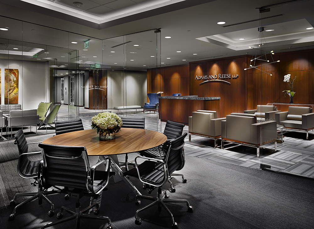 Eames Aluminum Group Executive, Davis Ekko Table,u0026nbsp;Adams And Reese;u0026nbsp