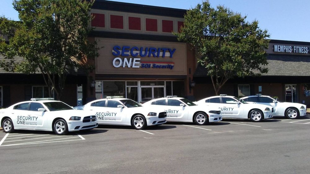 Vinyl decals and wraps, Security One; Memphis, TN | Image: DH