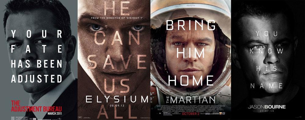 "The whole movie summed up in a single image: 'Matt Damon is in it"""