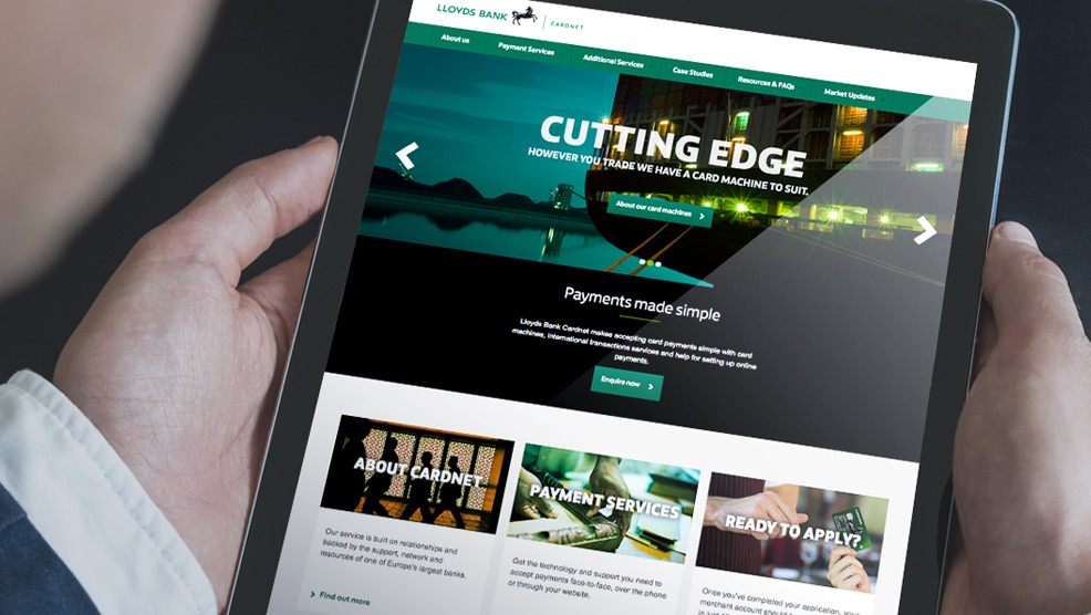 LLOYDS BANKING GROUP UX, DESIGN & BUILD