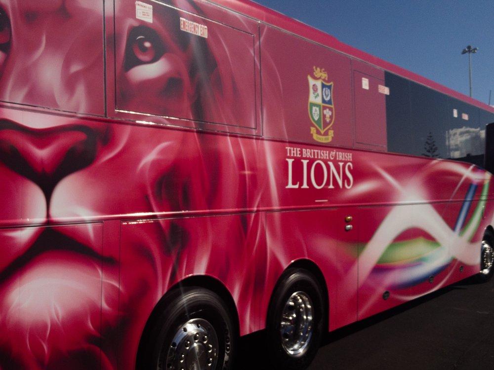 Standard Life Lions Tour Bus