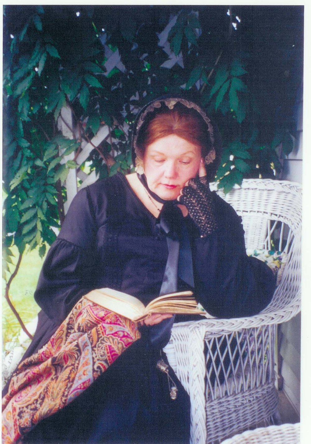 History is story. Meet Annie in person and ask her what inspired her. What inner calling to explore time and space in the great silence of a star-strewn sky inspired her? - Linda Chatfield as Annie. .