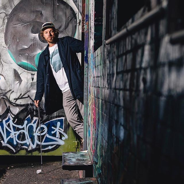 Just hanging out in a magazine here @caddiemag check it out if you like well made $@*! the interview was rad and it stopped raining just long enough to go down an alley in Melbourne to get some rad pics by @nicasa - so to be clear if you like #adventuresingolf on @skratchtv youll love caddie mag bc its basically the same thing except it goes on your coffee table and your friends immediately know how slick and probably great at golf you are. #realnews