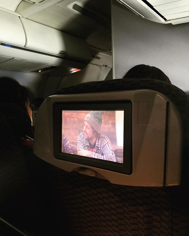 """Feeling really grateful! @united is sponsoring #adventuresingolf and playing season 1 now on domestic flights. Felt super surreal to watch it on a plane with people I don't know. The lady next to me said it looked interesting and that she didn't know golf was """"like that""""... Oh yes, golf is definitely like that!!"""