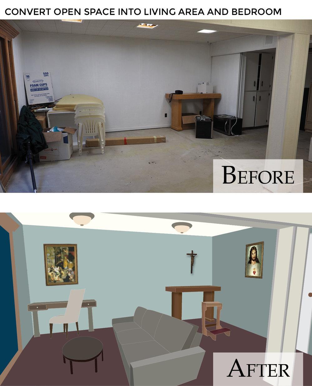 Hermitage Appeal Web - Living area-Bedroom Before & After.jpg