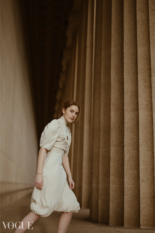 Model: Macy Harmon // Designer: Sydney Duncan