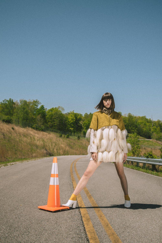 Designer: Ashleigh Cain // Model: Sydney Duncan