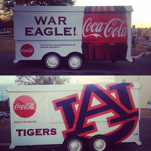 Out here getting ready for rivalry week! #alabama #wareagle #rolltide