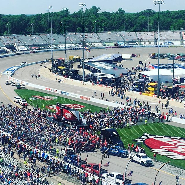 Solid weekend @richmond_international_raceway for the Toyota 400. #toyota #richmond #rir #richmondinternationalraceway