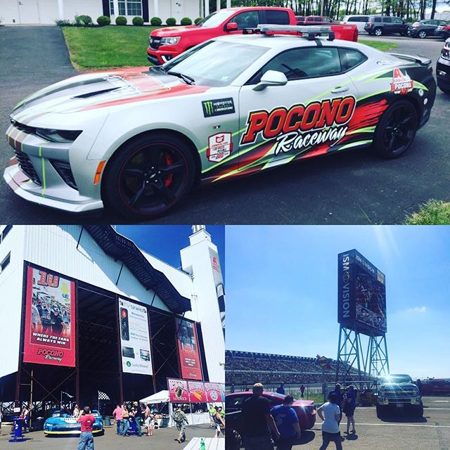 Another successful weekend @poconoraceway. Until next time! #pocono #nascar