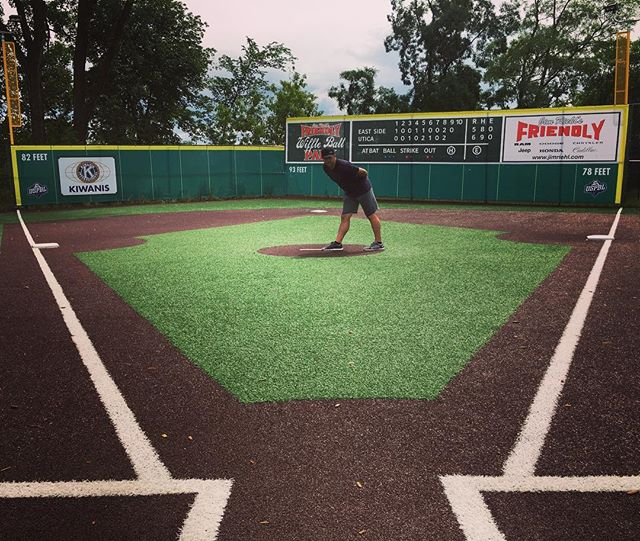 Happy Friday, who's ready for some Wiffle Ball! #weavermedia #wiffleball #uspbl #jimmyjohnsfield #verlanderwho