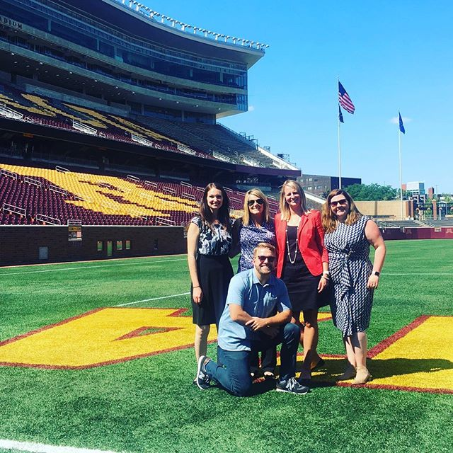 Had a great visit to Minnesota with these wonderful Coca-Cola ladies! We'll see you again soon! #weavermedia #cocacola  #minnesota #tcfbankstadium #rowtheboat