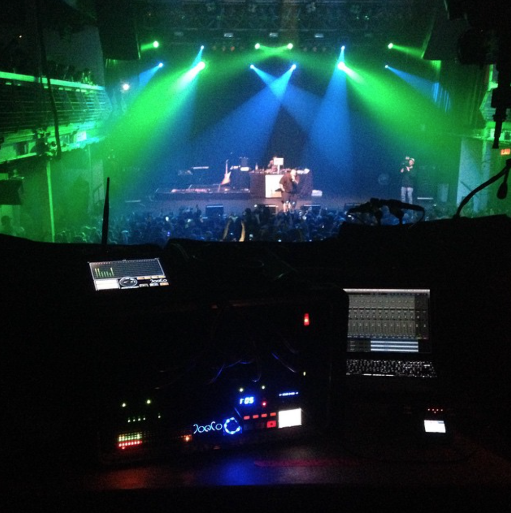 Audio Recording at Terminal 5 for Action Bronson