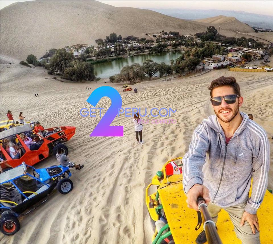 Flight from Ica and ride over the Huacachina sand dunes  - Price from 280 USD