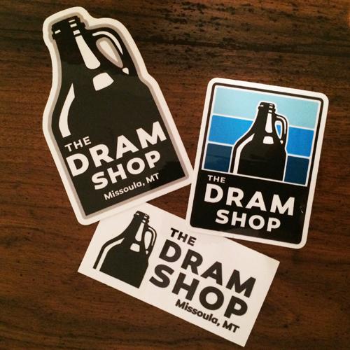 The Dram Shop Decals