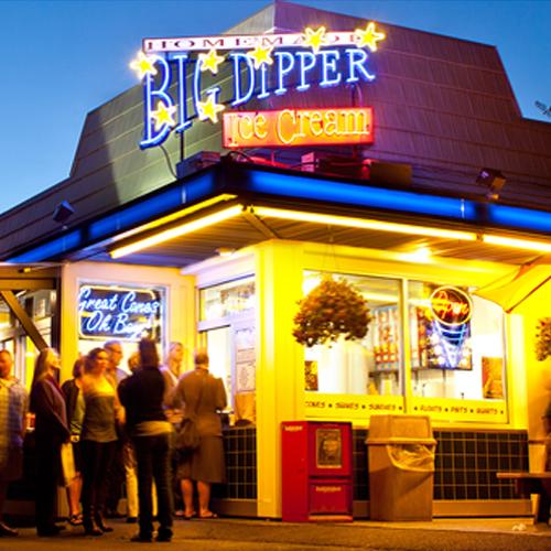 Big Dipper Signage