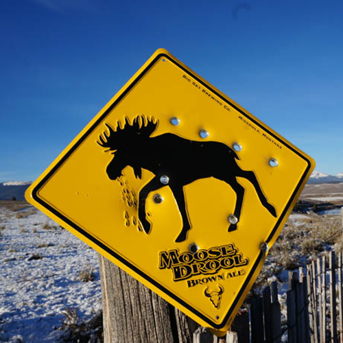 Montana Road Sign