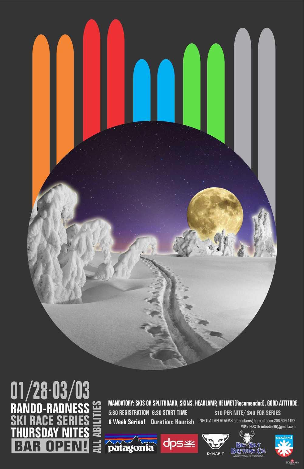 Rando-Radness 2016 Poster