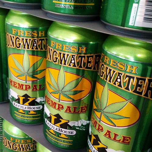 Fresh Bongwater™ Hemp Ale 16 oz. cans