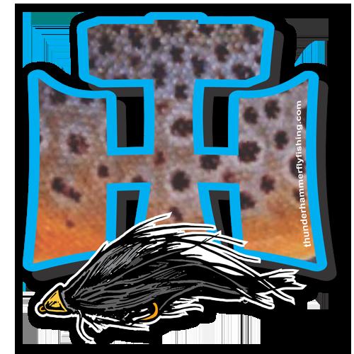Thunder Hammer Flyfishing decal
